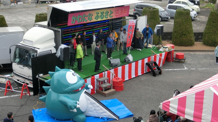 イベントステージトラック風景