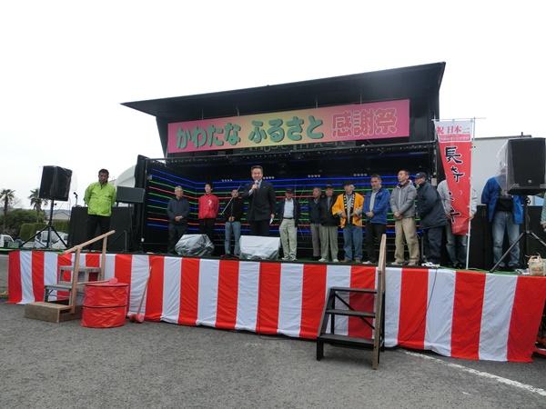 長崎川棚イベントトラックレンタル風景